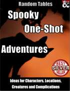 Spooky One-Shot Adventures for Horror and Halloween