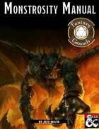 Monstrosity Manual (Fantasy Grounds)