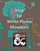 S2 White Plume Mountain - Map