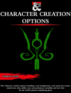 New Character Creation Options [D&D 5e (2020)]