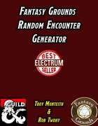 Fantasy Grounds Random Encounter Generator