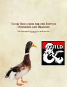 Duck D&D Resources [BUNDLE]