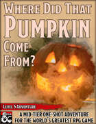 Where Did That Pumpkin Come From?