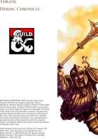 Thrane Heroic Chronicle