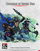 Barbarians of Icewind Dale