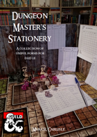Dungeon Master's Stationery