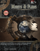 Merits & Flaws: A D&D 5e Chracter Creation Variant Rule