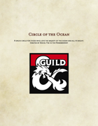 Cirle of the Ocean - Druid Subclass