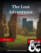 The Lost Adventurer