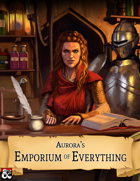 Aurora's Emporium of Everything [BUNDLE]
