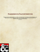The Hammerhock Slaughterhouse