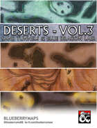 Deserts Vol. 3. Sand tunnels and blue dragon lair