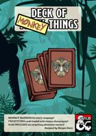 Deck of Monkey Things