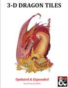 3-D Dragon Tiles - Updated & Expanded