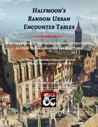 Halfmoon's Random Urban Encounters