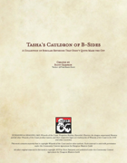 Tasha's Cauldron of B-Sides - Alternate Subclass Compendium