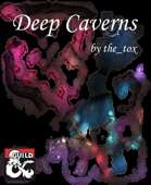 Caverns Map levels 1&2