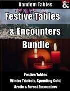 Festive Tables and Encounters Bundle [BUNDLE]