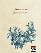 Winterborn - a Sorcerous Origin