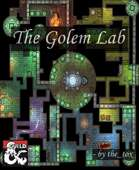 Dungeon battle map (The Golem Lab)