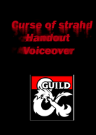 voiceovers for strahd handouts + barovia church
