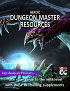 Heroic Dungeon Master Resources [BUNDLE]