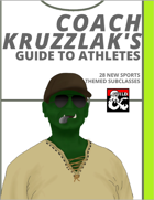 Coach Kruzzlak's Guide to Athletes