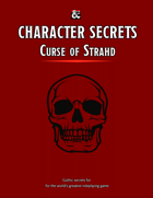 Character Secrets for Curse of Strahd