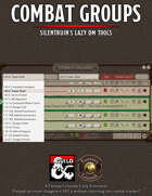 Combat Groups Extension (Fantasy Grounds Unity)