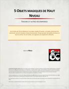 5 Objets Magiques de Haut Niveau par Naali