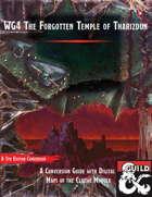 WG4 The Forgotten Temple of Tharizdun - 5e Conversion Guide with Maps
