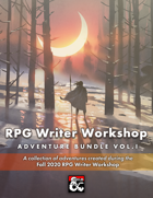 RPG Writer Workshop Fall 2020 Vol. I [BUNDLE]