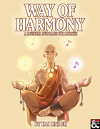 Musical Subclasses: Way of Harmony