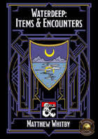 Waterdeep: Items & Encounters (Fantasy Grounds)