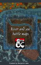 River and sea Battle maps 5e