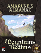 Amarune's Almanac: Mountains of the Realms (Fantasy Grounds)