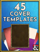 45 Cover Art Templates - Art Pack