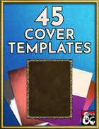 45 Cover Art Templates - Art Pack