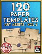 120 Paper, Letter, and Handout Templates - Hand Drawn Style