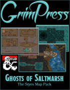 Ghosts of Saltmarsh - The Styes Map Pack