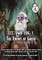 CCC-DWB-EoG-1 The Enemy of Greed