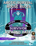 Arctic Survival House Rules for Icewind Dale (Fantasy Grounds)