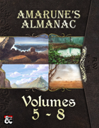 Amarune's Almanac - Volumes 5 - 8 [BUNDLE]
