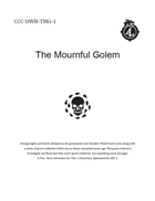 CCC-DWB-TMG-1 The Mournful Golem