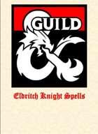 Eldritch Knight Spells