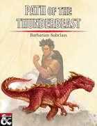 Barbarian Path of the Thunderbeast