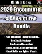 Encounters and Adventures 2020 - Random Tables [BUNDLE]