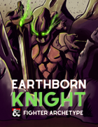 Arena of Champions - The Earthborn Knight: A New Fighter Archetype