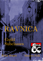 Ravnica Guild Subclasses