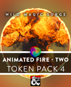 Animated VTT Fire 2 - Token Pack 4